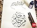 Kaligrafi Kreasi Indonesia Melanglang Dunia