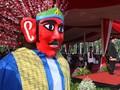 Boneka Raksasa Betawi dari 'Bengkel' Sempit di Kemayoran