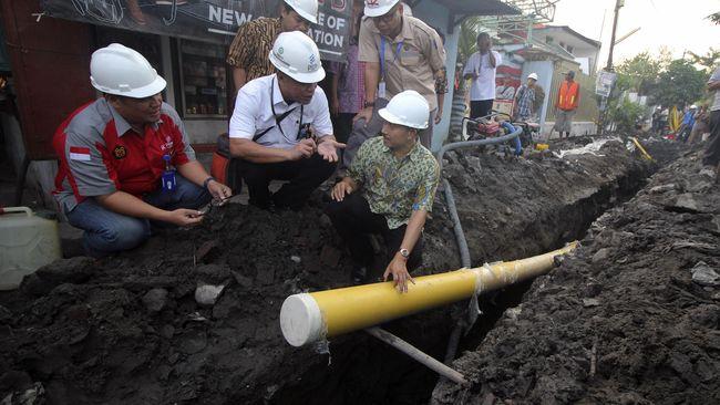 RI Klaim Hemat Impor LPG Rp225 Miliar Berkat Jargas pada 2018