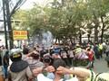 Tolak Ahok Resmikan RPTRA, Massa Lempari Polisi dengan Batu