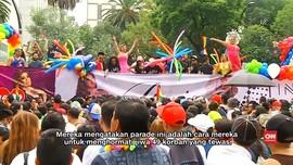 Meksiko Gelar Parade LGBT Pasca Insiden Orlando