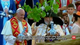 Paus Fransiskus Desak Armenia dan Turki Berdamai