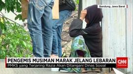 Pengemis Musiman Jelang Lebaran Bermunculan di Bandung