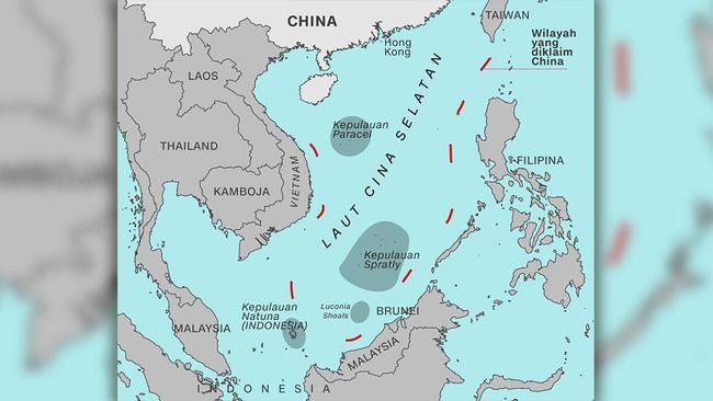 RI Mesti Waspadai Dampak Putusan Arbitrase Laut China Selatan