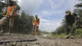 Proyek Jalan Lintas Timur Sumatra Dibidik Jalan Maret 2019