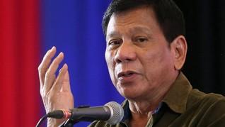 Duterte Minta Darurat Militer Mindanao Diperpanjang