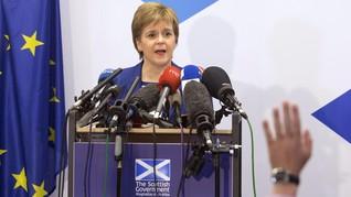 PM Skotlandia Perkirakan Boris Johnson Kejar 'No Deal Brexit'