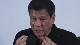 Duterte Tantang Perang Pemimpin Pemberontak Komunis Filipina