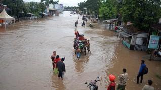 Pasuruan Direndam Banjir Tiga Hari, Warga Butuh Pasokan Makan