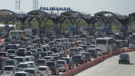Arus Balik, Gerbang Tol Palimanan Arah Jakarta Normal