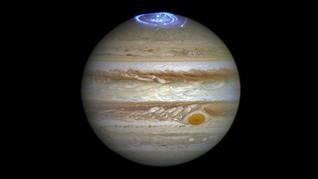 NASA Tangkap Aurora di Jupiter