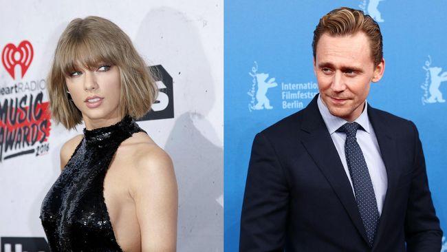 Kemesraan Taylor Swift dan Tom Hiddleston Dianggap Palsu