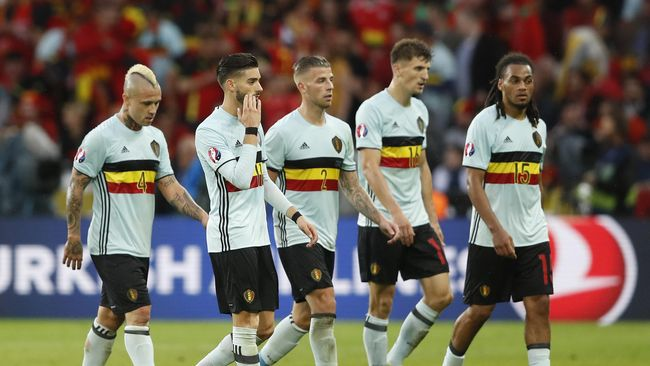 Menanti Pembuktian Generasi Emas Belgia di Piala Dunia 2018