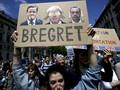 Ribuan Warga Inggris Protes Hasil Referendum Brexit