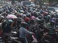 Sudah Puncak Arus Mudik, Motor Keluar Jakarta Mulai Berkurang