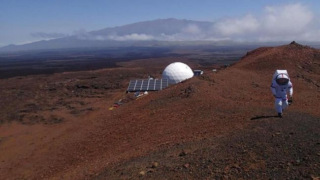 Setahun Diisolasi, Enam Ilmuwan Keluar dari 'Mars'