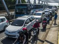 Arus Balik Lintas Sumatera Kebanjahe-Medan Macet Parah