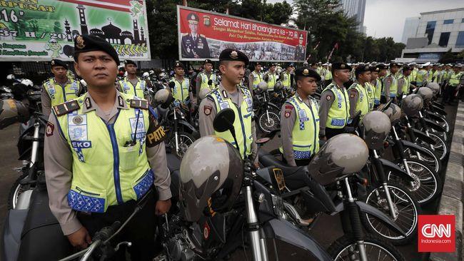 Polisi Tetap Tilang Peserta Takbir Keliling Pelanggar Aturan