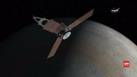 Lima Tahun Perjalanan, Juno Tiba di Jupiter
