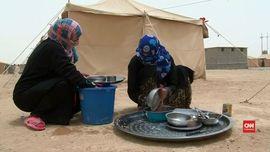 Gempita Idul Fitri yang Tak Dirasakan Pengungsi Fallujah