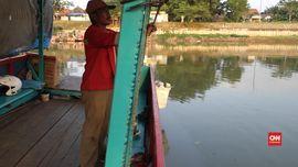 Makna Lebaran Si Penarik Perahu Tambangan