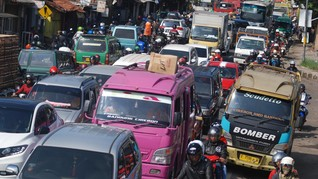 106 Ribu Kendaraan, Puncak Arus Mudik Nagreg Terjadi pada H+2