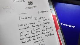 Terungkap, Memo Rahasia Blair untuk Bush dalam Perang Irak