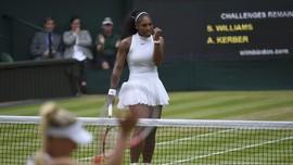 Juara Wimbledon, Serena Williams Samai Rekor Steffi Graf