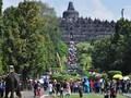 Candi Borobudur Banjir Puisi Toleransi Beragama Jelang Waisak