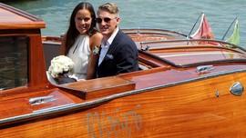 Janji Suci Bastian Schweinsteiger dan Ana Ivanovic di Italia