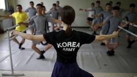 Gemulai Balet Tentara Korea Selatan