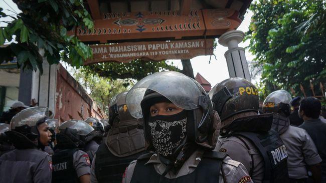 Kisah Mahasiswa Papua di Yogya Dua Hari Terkurung di Asrama