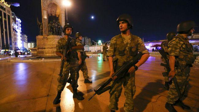 Turki Tangkap 47 Orang karena Terlibat Percobaan Kudeta