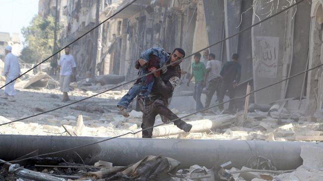 Militer Suriah Gempur Basis Pemberontak di Aleppo, 21 Tewas