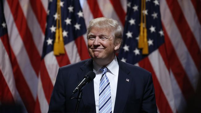 Donald Trump Resmi Jadi Calon Presiden Amerika Serikat