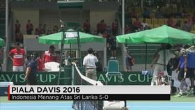 Tim Piala Davis Indonesia Bertahan di Zona Asia Oceania