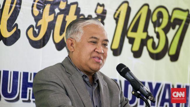 Din Syamsuddin Prediksi akan Ada Aksi Jika PK Ahok Dikabulkan