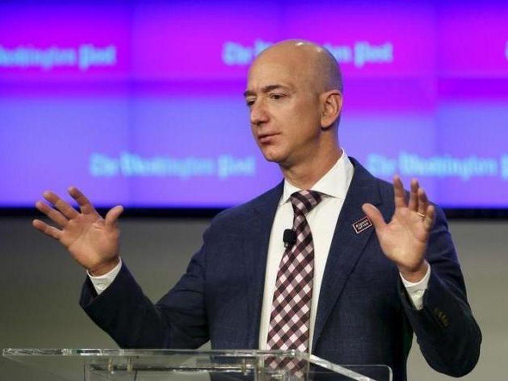 2. Jeff Bezos - USD 72,8 miliar - Amazon. Foto: Reuters