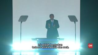 Perseteruan Rocker Gaek dengan Donald Trump