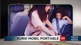 Kursi Mobil Portabel untuk Keselamatan Anak Saat Berkendara