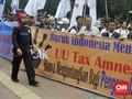Diiringi Unjuk Rasa, Buruh Gugat UU Tax Amnesty ke MK