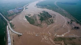 Banjir dan Longsor di China, Setidaknya 87 Orang Tewas