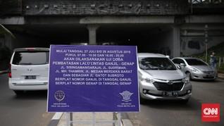 Pil Pahit untuk Jakarta Bernama Sistem Ganjil Genap