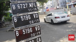 Pelat Nomor Kendaraan Listrik Bakal Pakai Kode Khusus