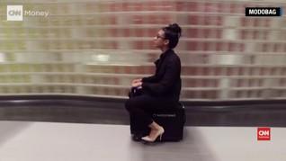 Modobag, Koper Beroda Bisa Jadi Kendaraan di Bandara