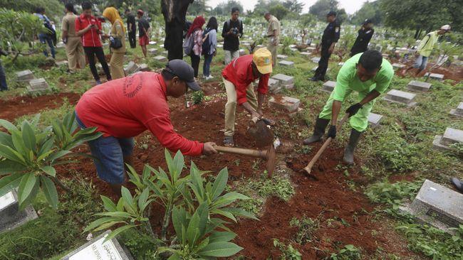 Pemprov DKI Jakarta Temukan 230 Makam Fiktif