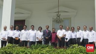 Presiden Jokowi Rombak Kabinet Lagi
