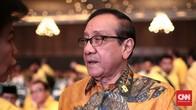 Akbar Tanjung Akui Golkar Belum Bahas Airlangga Jadi Cawapres