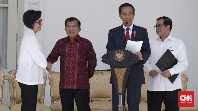 Kejutan Sri Mulyani dan Politik Aman Jokowi