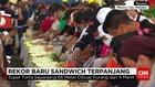 Sandwich Terpanjang di Amerika Latin
